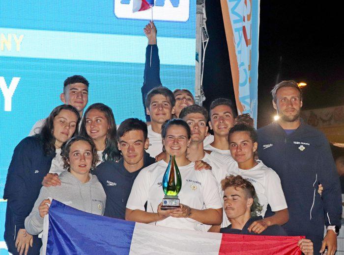 Les juniors FFSS au 3e rang européen