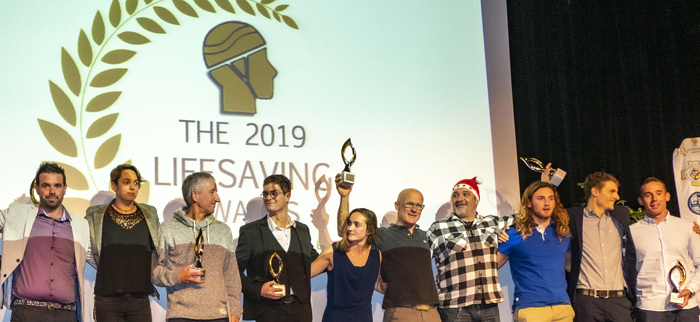 Awards 2019 / Margaux Fabre et Julen Marticorena sauveteurs de l'année