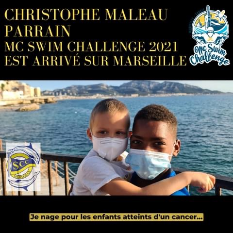 Christophe Maleau, jeune nageur au grand cœur